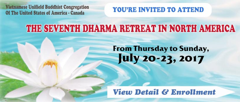 The Seventh Dharma Retreat In North America 2017